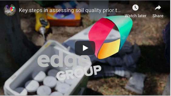 Video: Key steps in assessing soil quality prior to off-site disposal